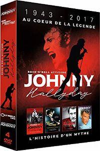 Cover Johnny Hallyday - Rock'n'roll attitude - 1943-2017 Au cœur de la légende [DVD]